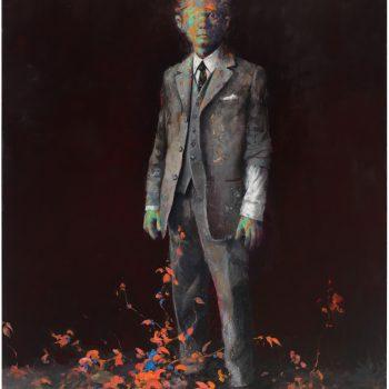 ein Mut, Öl auf Leinwand, 240 x 180 cm, 2017
